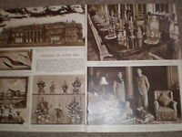 Photo article the treasures of Luton Hoo 1950 ref K