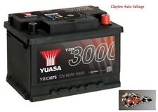 Vauxhall Astra, Combo, Meriva, Vectra, Zafira YUASA Car Battery YBX3075