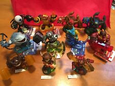 Skylanders Trap Team Lot Of 11 Giant Figures Characters Cards Stickers EUC