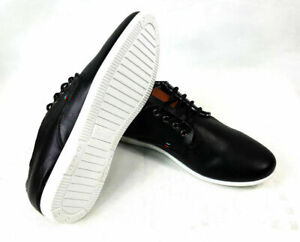 Men's Smart Formal Casual Blank Faux Leather Lace up Shoes