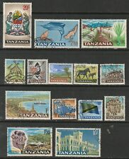 Tanzania 1965 - Part set used - (inc 20/-) - 14 stamps