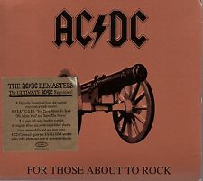 AC/DC - For Those About To Rock We Salute You - CD Album *Remastered* *Digipak*