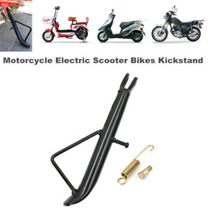 Motorcycle Scooter Bike Kickstand Side Stand Leg Prop Stable Support Universal