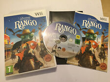 NINTENDO Wii VIDEO GAME VIDEOGAME RANGO +BOX INSTRUCTIONS COMPLETE PAL
