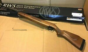 Diana RWS 350 Magnum .22 Caliber 1000 fps Break Barrel Hardwood Stock Air Rifle