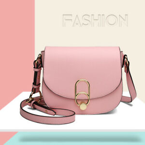 Small Handbag Faux Leather Ladies Messenger Satchel Bags Tassel Cross Body Bag