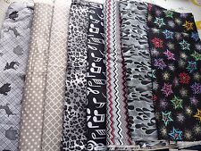 Grey or Black Flannel Fabric Belly Bands Male Dog Carol's Crate Covers