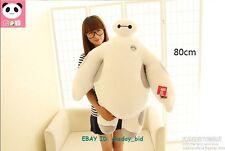 """Large Size  Big Hero 6 White Baymax Robot Bayma Stuffed Toy Plush Doll 28"""" High"""