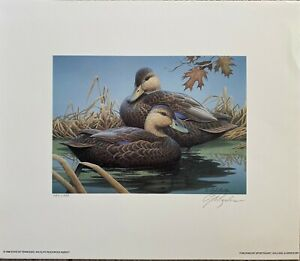 1996 Tennessee Duck Stamp and Print by Rob Leslie - Limited Edition