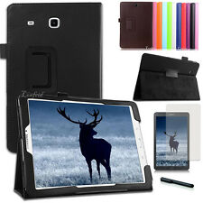 Samsung Galaxy Tab E 9.6 T560/565/561 Schutzhülle Tasche Etui Case +Folie+Pen-2
