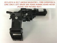 2015-2017 lincoln navigator , ford expedition left power running board motor #3