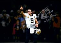 DREW BREES Autographed Signed 8x10 Photo Saints Record Breaking REPRINT