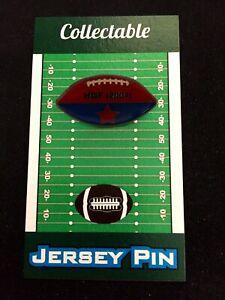 Buffalo Bills Marv Levy football lapel pin-Classic Collectible