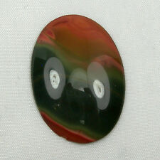 30x22mm Oval Cabochon Natural Sardonyx Onyx Gemstone Loose 17.50 carats,  #25
