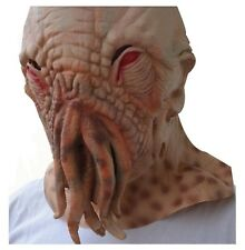 Youtumall Latex Ood Octopus Head Mask Doctor Who Wode Star Horror Masks