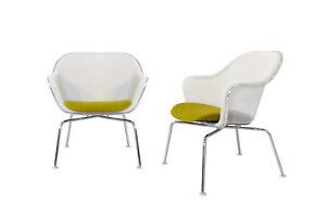 2 x B&B Italia Iuta designer chairs by Antonio Citterio