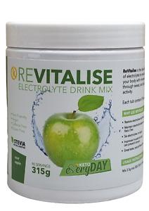 ReVitalise Electrolyte Drink 90 Servings - Green Apple