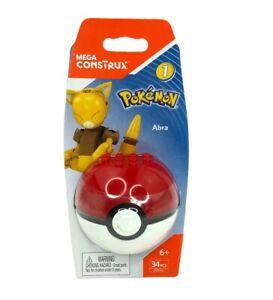 Mega Construx Pokémon Series 1 Abra 34 Pieces Set DYF05 New