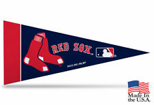 """New MLB Boston Red Sox Mini Pennant  9""""x4"""" Made in USA Flag Banner"""