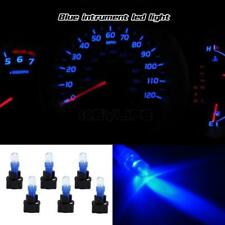 6pack TWIST LOCK SOCKET Blue T5 LED INSTRUMENT PANEL CLUSTER DASH LIGHT PC70 74