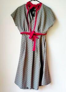 Women's Rockabilly Style Betty Page by Tatyana Halter Neck Dress Set. XL