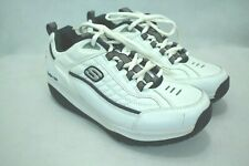 SKECHER SHAPE UPS MEN'S WHITE SHAPING/TONING SHOES SIZE 10US/9UK/43EU