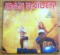 IRON MAIDEN: RUNNING FREE Live 1985 Maxi Single Vinyl 12'' neuwertig/sehr gut!