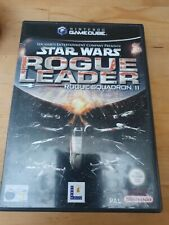 Star Wars Rogue Leader Rogue Squadron II Nintendo Gamecube with instructions PAL