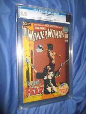 Dick Giordano Collection Wonder Woman #199 Cgc 8.0 Classic Bondage Cover 1972