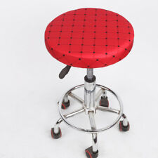Home Bar Stool Chair Cover Slipcover Grid Red Grid -33cm
