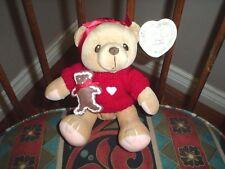 Cherished Teddies Cookie Teddy Bear Retired Enesco 1999