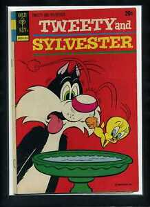 Tweety and Sylvester (V2) #30 VG/F 1973 Gold Key Comic Book