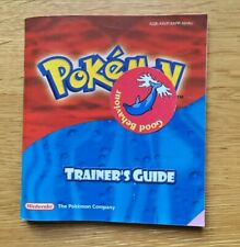 Nintendo Gameboy Advance GBA Manual - Pokemon Ruby / Sapphire Trainers Guide