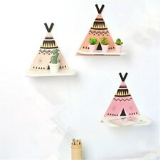27cm Wall Shelf Tent Wood Hanging Holder for Baby Room Home Decorative Shelve