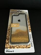 Apple iPhone 6/6S Sparkle & Flow Glitter Case GOLD - NEW in Retail Packaging