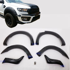 "For 15 16 17 Ford Ranger Face Lift Fender Flare 6"" Wheel Arch Off-road Wildtrack"