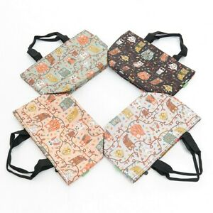 OWL PRINT COOL BAG INSULATED LUNCH BAG IN 4 COLOURS BY ECO CHIC