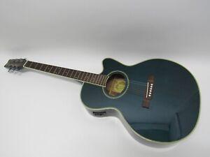 Washburn EA8TBL Acoustic Electric Guitar w/gig bag