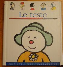 """""""LE TESTE"""" n.2  - EDIZIONI E. ELLE - CARTAMAGICA  (1994)"""
