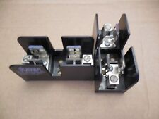 Gould Shawmut Fuse Block Holder 60606J 600 Volt 60A 60 A Amp Lot of 2 New