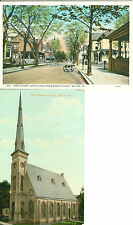 Milton PA Lot of 2 The First Baptist Church and Front Street North