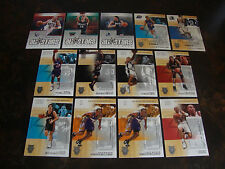 2002-03 Fleer Hot Shots Basketball---Lot Of 13---Stars Only---See List