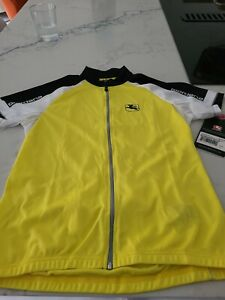 Giordana Women Cycling Jersey Size Small- Yellow NWT
