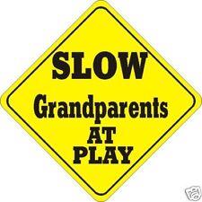 Grandparents At Play Sign