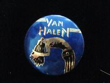 Van Halen-David Lee Roth-Uk-Prism Foil-Button-80's Vintage-Rare