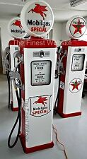 NEW MOBILGAS SPECIAL GAS PUMP REPRODUCTION REPLICA RETRO MOBIL - FREE SHIPPING*