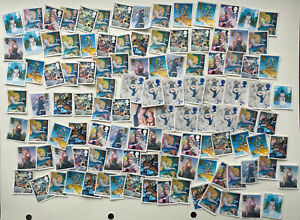 110 x UNFRANKED/LIGHTLY FRANKED 2nd class XMAS stamps FV £72 OFF paper. No Gum