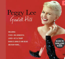 Peggy Lee GREATEST HITS Best Of Compilation + 2 Albums NEW 2 CD