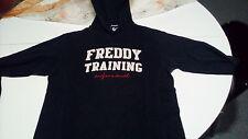 Maglia/felpa uomo con cappuccio Freddy Training - Taglia M - Nera