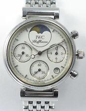 IWC da vinci Lady chronograph en acero inoxidable-Ref. 3736 Quartz de aprox. 2005